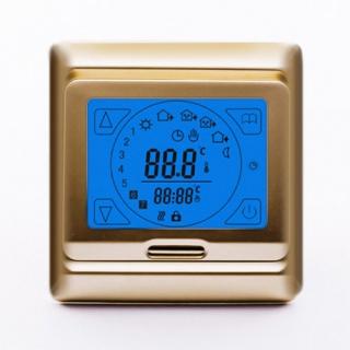 Терморегулятор E 91.716 золотистая рамка