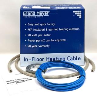 Нагревательный кабель Grand Meyer ТНС20-70