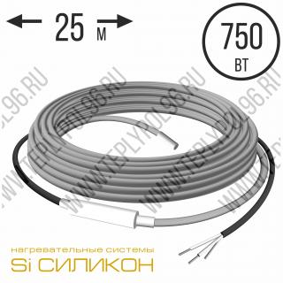 Нагревательный кабель СНКД30-750-25